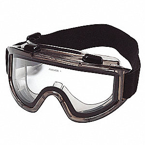 Anti-Fog Protective Goggles, Clear Lens Color