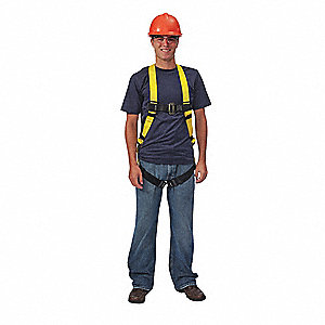Universal General Industry Full Body Harness, 310 lb. Weight Capacity