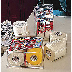 Athletic Tape Kit,White,1-1/2 InW,10 yd