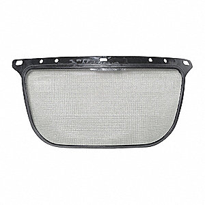 Screen Visor,Black,Metal,16 In. H