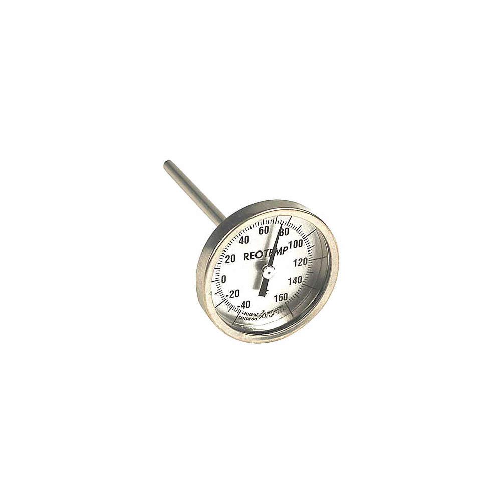 "Soil Thermometer 8"" Stem 2"" Dial"