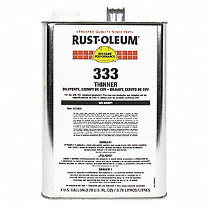 Paint Thinner, 1 gal , Brush, Roll, Spray, VOC Content: 0 g/L