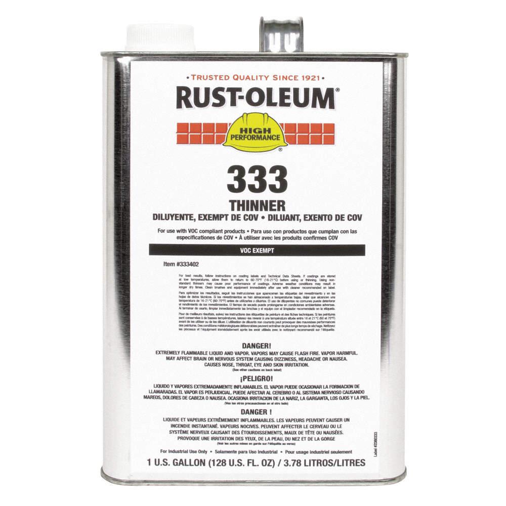 Paint Thinner, 1 gal , Brush, Roll, Spray, VOC Content: 0 g/L