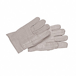 Heat Resistant Gloves, Cotton Canvas, Universal, PK 12