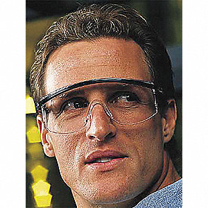 Astrospec 3000® Scratch-Resistant Safety Glasses, Amber Lens Color