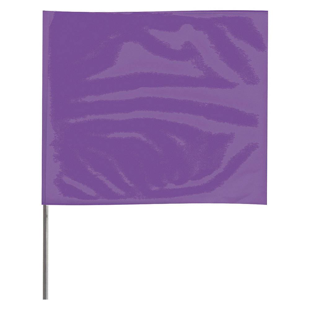 Purple Marking Flag, 2-1/2