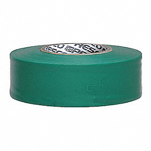 Texas Flagging Tape,Grn,300ft x 1-3/16In