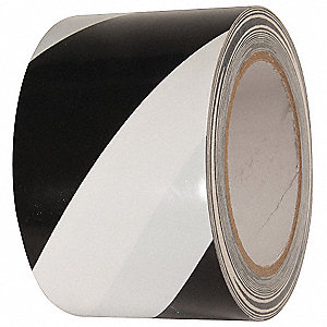 Floor Marking Tape,Roll,3In W,108 ft. L
