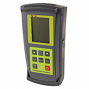 Carbon Monoxide Analyzr, 0to10, 000ppm, LCD