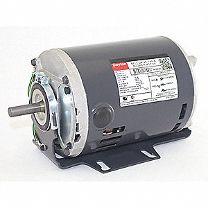 1/3, 1/9 HP Belt Drive Motor, Split-Phase, 1725/1140 Nameplate RPM, 115 Voltage, Frame 48Y
