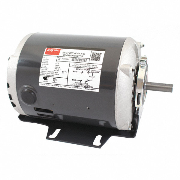 Dayton 1 2 hp belt drive motor split phase 1725 for General motors extended warranty plans