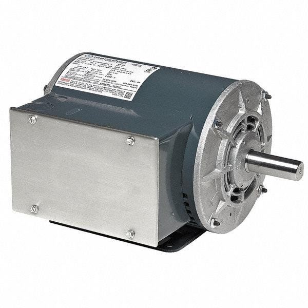 Marathon motors 1 hp air compressor motor capacitor start for 3 hp air compressor motor