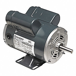 3 HP Pressure Washer Motor, Capacitor-Start, 1760 Nameplate RPM, 208-230 Voltage, 184T Frame