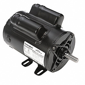 2 HP Commercial Duty Air Compressor Motor,Capacitor-Start/Run,3450 Nameplate RPM,115/230 Voltage