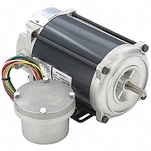 1/4 HP Hazardous Location Motor,Capacitor-Start,1725 Nameplate RPM,115/230 Voltage,Frame 48