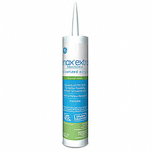 Clear Caulk, 10.1 oz. Cartridge
