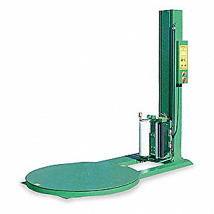 "Low Profile Stretch Wrap Turntable, 20"" Roll Width, 115VAC Voltage, 15 Amps"