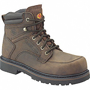Work Boots, Size 8, Toe Type: Steel, PR