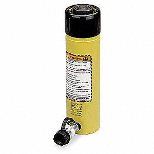 "25 tons Single Acting General Purpose Steel Hydraulic Cylinder, 4"" Stroke Length"
