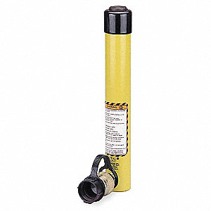"10 tons Single Acting General Purpose Steel Hydraulic Cylinder, 10-1/8"" Stroke Length"