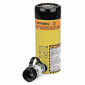 "12 tons Single Acting Hollow Steel Hydraulic Cylinder, 3"" Stroke Length"