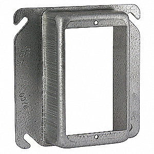 Raco Galvanized Zinc Plaster Ring For Use With Close 4