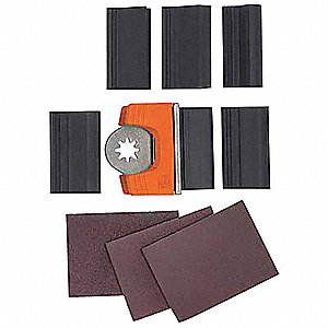 Sandpaper Profile Set 120 Grit, PK25