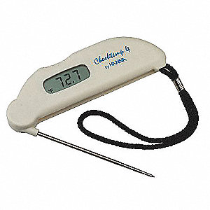 Digital Pocket Thermometer,Stainless Stl
