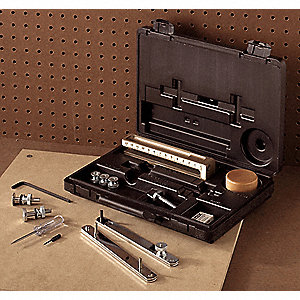 "Extension Gasket Cutter Kit, Number of Pieces: 23, Cutting Dia.: 1/4 to 37"", SAE"