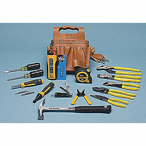 General Hand Tool Kit, Number of Pieces:  16, Application:  Journeyman
