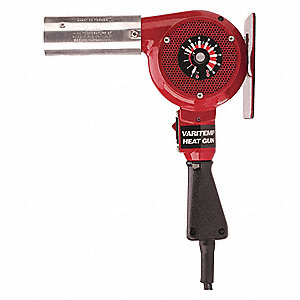 Heat Gun,Ambient to 1000F,14.5A,23 cfm