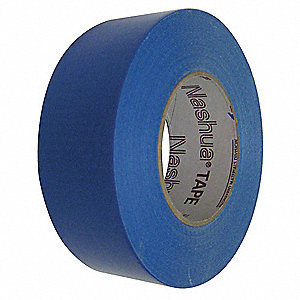 "Industrial Duct Tape, 2"" X 60 yd., 11.00 mil Thick, Blue Cloth, 1 EA"