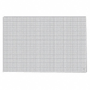 "36"" x 24"" Self-Healing Cutting Mat, One Side Translucent w/White Lines, Other Side Solid Translucent"
