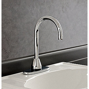 Bathroom Faucet, Sensor Handle Type