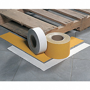 Pavement Marking Tape,  White,  Two Way,  150 ft Length,  4 in Width