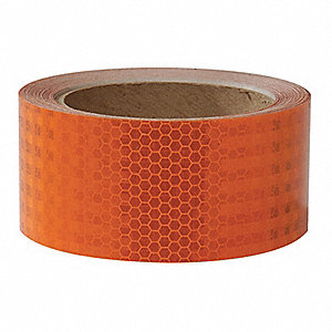 "Reflective Marking Tape, Solid, Roll, 2"" x 30 ft., 1 EA"