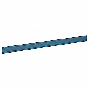 Stringer,72 W x 1 D x 5 in. H,Blue