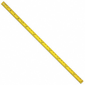 English Measure Metric Stick,Width 27 In