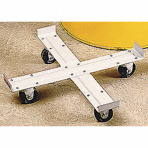 DRUM DOLLY,1000 LB.,5-1/2 IN. H