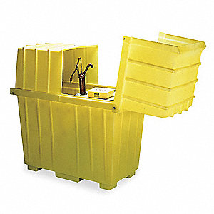 Covered Drum Spill Containment,64 in. H