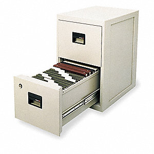 Fire Safe Filing Cabinet2 Drawer  sc 1 st  Grainger & SENTRY SAFE Fire Safe Filing Cabinet2 Drawer - 3KN95|6000 - Grainger