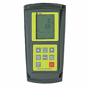 Combustion Flue Gas Analyzer