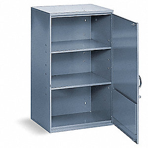 "Aerosol Can Storage Cabinet, Gray, 32-3/4"" Overall Height, Assembled"