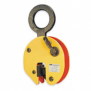 Plate Clamp,3300 lb,Vertical,0 to 3/4 In