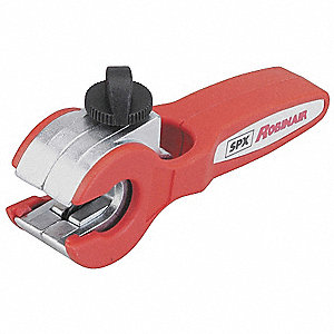 Tube Cutter,Ratcheting,1/8 to 1/2 In