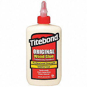 8 oz. Heat- and Solvent-Resistant Wood Glue, Original, Yellow