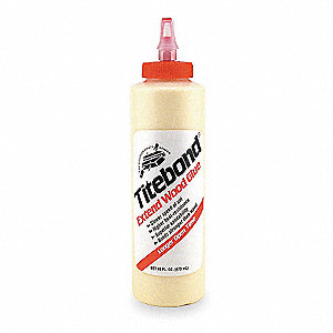 Wood Glue, Extend Original, 16.00 oz. Bottle, Yellow, 1 EA