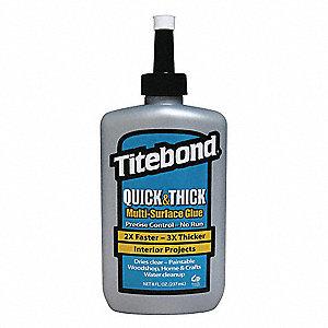 Titebond Wood Glue 8 00 Oz Bottle Beige 1 Ea 3kru9