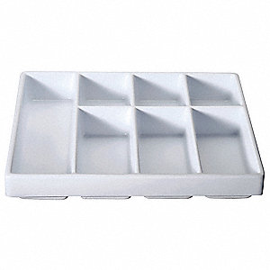 Drawer Organizer,7Compmnts,2.5x19x17.5In