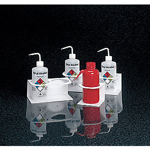 Squeeze Bottle Holder,2Cmp,9x4.75x4.75In